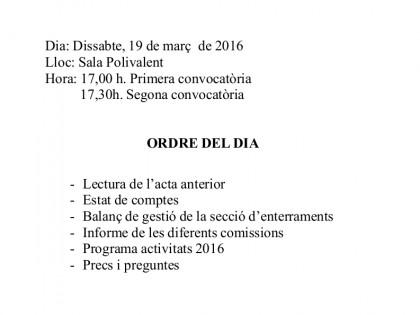 Assemblea General de Veïns/es