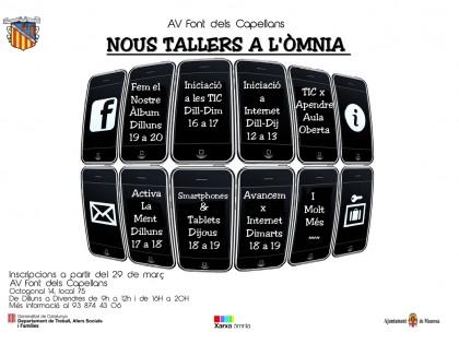 Nous Tallers a l'Òmnia de La Font